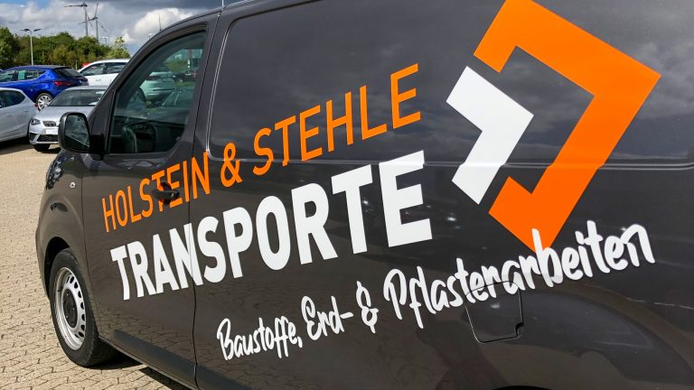 Magistro Werbung - Fahrzeugbeschriftung